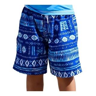 Sun Emporium Baby Boys Indigo Print Board Shorts