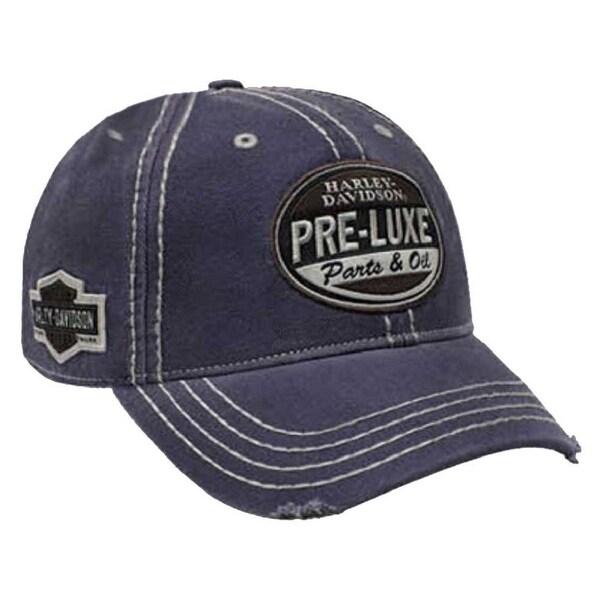 5d46d5fee241f Shop Harley-Davidson Men s Embroidered Retro Pre-Luxe Baseball Cap ...