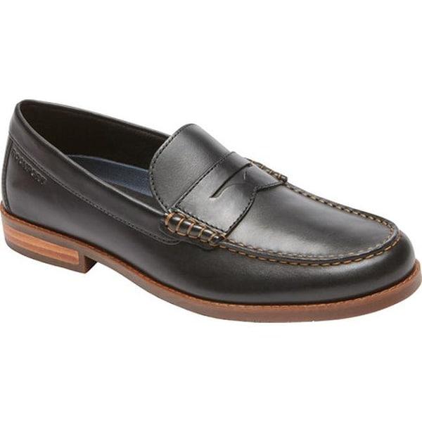 f9f5af32550 ... Men s Shoes     Men s Loafers. Rockport Men  x27 s Cayleb Penny Loafer  Black Leather