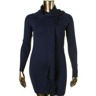 Energie Womens Juniors Lindsay Sweaterdress Solid Knit