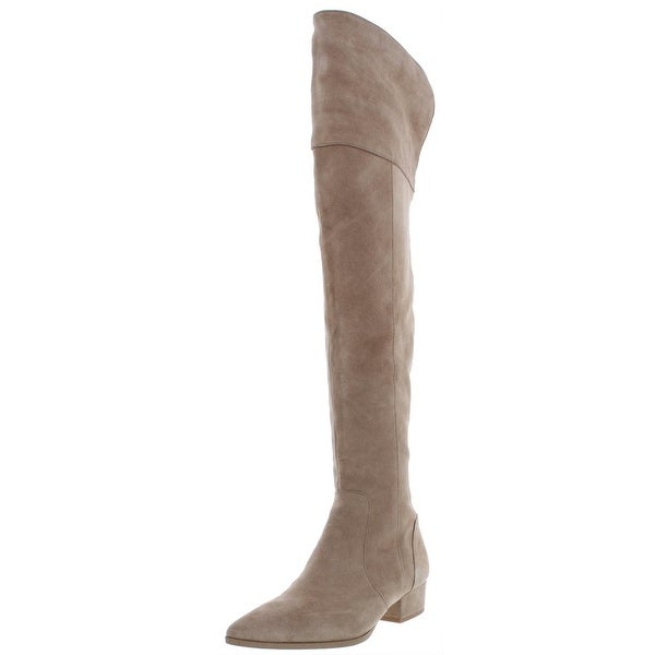 c23ffcd0d73 Shop Splendid Womens Ruby Over-The-Knee Boots Suede Pointed Toe ...