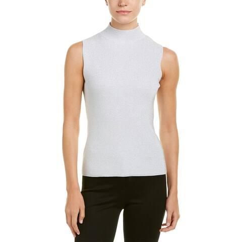 Joan Vass Sweater - Silver