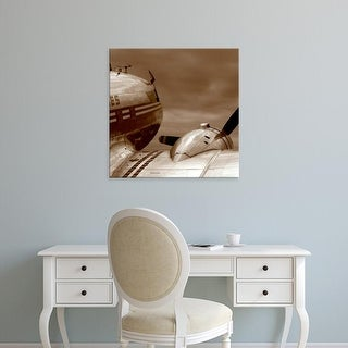 Easy Art Prints PhotoINC Studio's 'Aviation 1' Premium Canvas Art