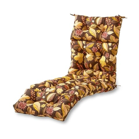 Eastport Outdoor Chaise Lounge Cushion by Havenside Home