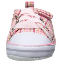 Luvable Friends Baby Girl 11124 Fabric   Sneakers