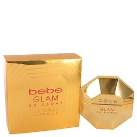 Eau De Parfum Spray 3.4 oz Bebe Glam 24 Karat by Bebe - Women