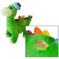 Feel Better Soon 18 inch Green Plush Dinosaur - Digby