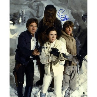 Peter Mayhew Han Solo Chewbacca Princess Leia Organa and Luke Skywalker in Star Wars The Empire Str