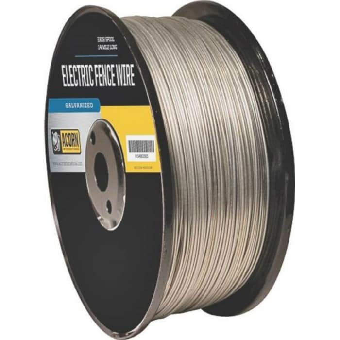 4 rolls Bekaert 119752 1//4 Mile  1320/' 17 Gauge Electric Fence Wire