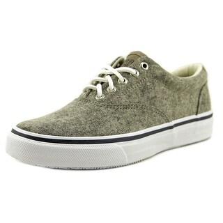 Sperry Top Sider Striper LL Cvo Men Canvas Gray Fashion Sneakers