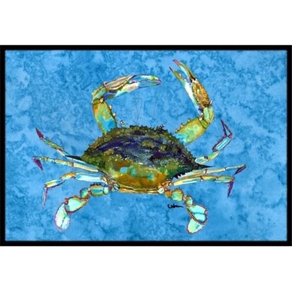 Carolines Treasures 8656MAT 18 x 27 in. Blue Crab Indoor Or Outdoor Mat