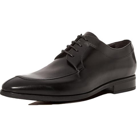 To Boot New York Mens Serra Oxfords Leather Lace Up - Black