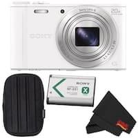 Sony Cyber-shot DSC-WX350 Point & Shoot Digital Camera Bundle