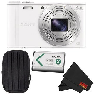 Sony Cyber-shot DSC-WX350 Point & Shoot Digital Camera Bundle