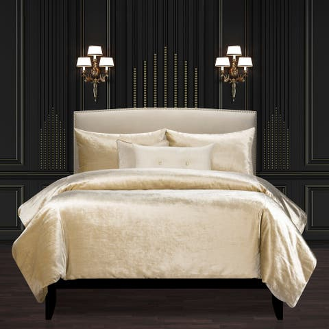 F Scott Fitzgerald Golden Hours Luxury Duvet Cover and Insert Set