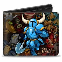 Shovel Knights & Characters Stacked Bi Fold Wallet - One Size Fits most