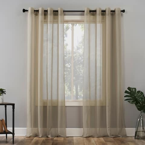 No. 918 Emily Voile Sheer Grommet Curtain Panel