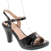 Patrizia Piera Women's Sandal - black-shiny