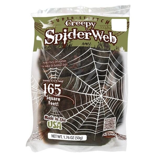 Spiderweb Creepy 13' Halloween Decoration