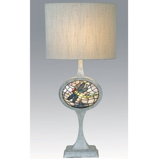 31.5 Inch H Cameo Dragonfly Lighted Base Table Lamp Table Lamps