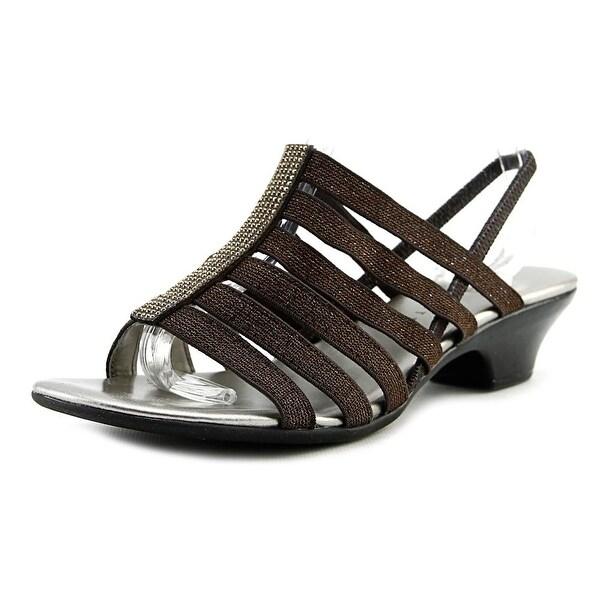 Karen Scott Stevee Women Bronze Sandals