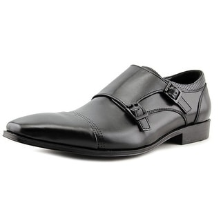Unlisted Kenneth Cole Music Lesson Men Cap Toe Synthetic Black Oxford