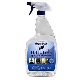 Simple Green 3110000612302 Naturals Glass Cleaner, 32 Oz