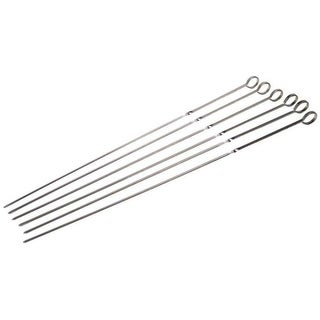 "Grill Pro 12150 Chrome Plated Skewers, 18"", 4 Piece"