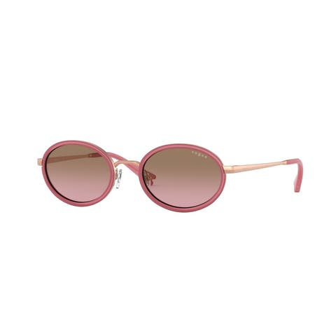 Vogue VO4167S 507514 48 Rose Gold Woman Oval Sunglasses