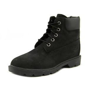 Timberland 6In Classic BT Youth Round Toe Leather Black Chukka Boot|https://ak1.ostkcdn.com/images/products/is/images/direct/ce05e4f5775e948b83326a3b1a34d8d68c2e846a/Timberland-6In-Classic-BT-Youth-Round-Toe-Leather-Black-Chukka-Boot.jpg?impolicy=medium