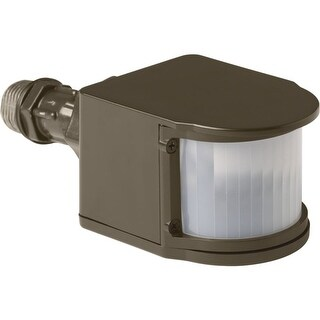 Progress Lighting P6345 Security LED Motion Sensor with Tempered Glass Shade (3 options available)