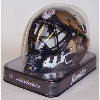 Nashville Predators Franklin Sports NHL Mini Goalie Mask