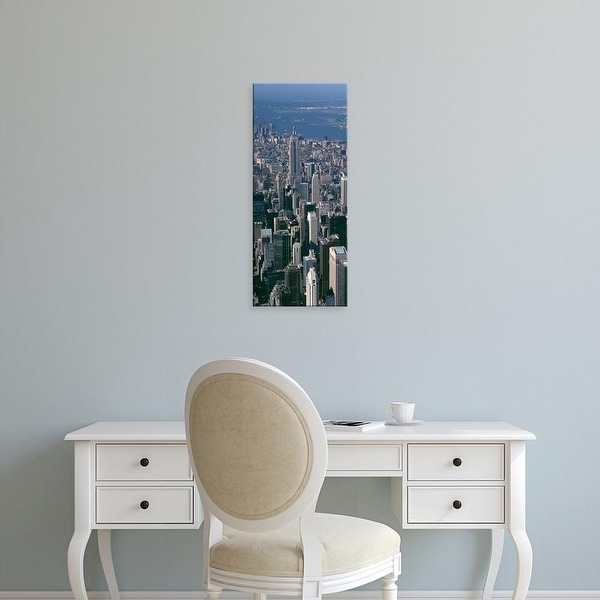 Easy Art Prints Panoramic Images's 'Midtown Manhattan Empire State Building New York City NY' Premium Canvas Art