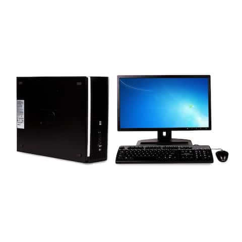 "HP 6300 SFF i5 8GB 3.2GHz 2TB Win 10 Home plus 17"" LCD (Refurbished)"
