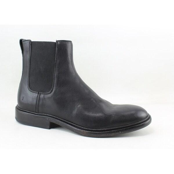 78635f525ea Shop Frye Mens Chris Chelsea Black Ankle Boots Size 8 - Free ...