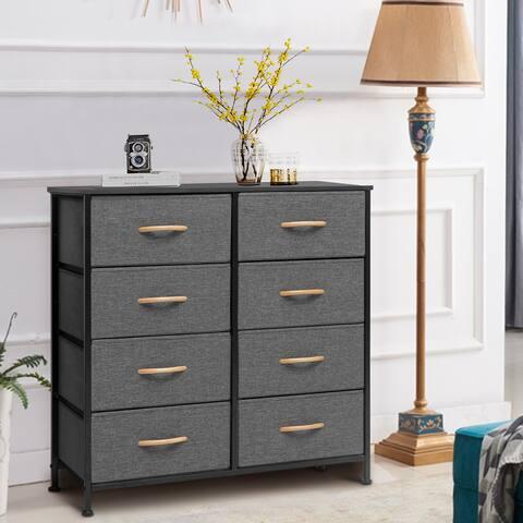 8 Drawers Vertical Dresser Storage Tower Organizer Unit for Bedroom