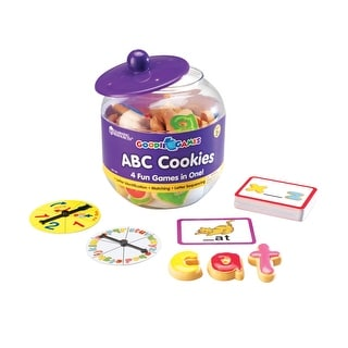 Learning Resources Goodie Games ABC Cookies, 89 Pieces
