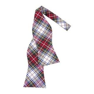 Tommy Hilfiger Men's Tartan Bow Tie (Multi, OS)