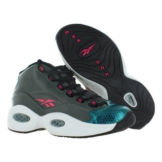 Reebok Question Mid Gradeschool Kid's Shoes Size