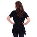 Simply Ravishing Women's Basic Short Sleeve Open Cardigan (Size: Small-5X) - Thumbnail 12