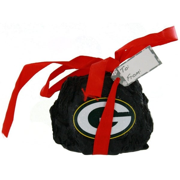 Green Bay Packers Coal Ornament - 2""