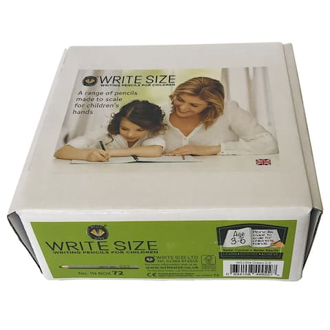 Write Size 4In Pencils 72 Count Box