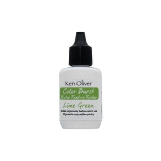 Link to Contact Crafts KOliver Color Burst Reinker LmGreen Similar Items in Stamping