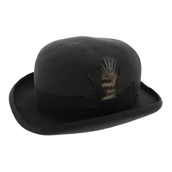 Shop Hats In The Belfry Mens Tammany Derby Hat Wool Banded