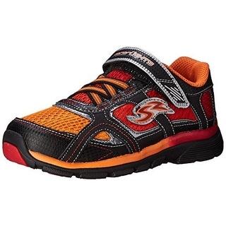 Stride Rite Boys Racer Lights Lightning Leather Little Kid Fashion Sneakers