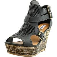 Not Rated Womens Trafalgar Square Peep Toe Casual Espadrille Sandals
