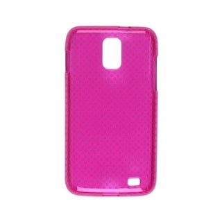 Dura-Gel TPU Skin Phone Protector Cover Case Plum Pink For Samsung Galaxy S 2 Sk