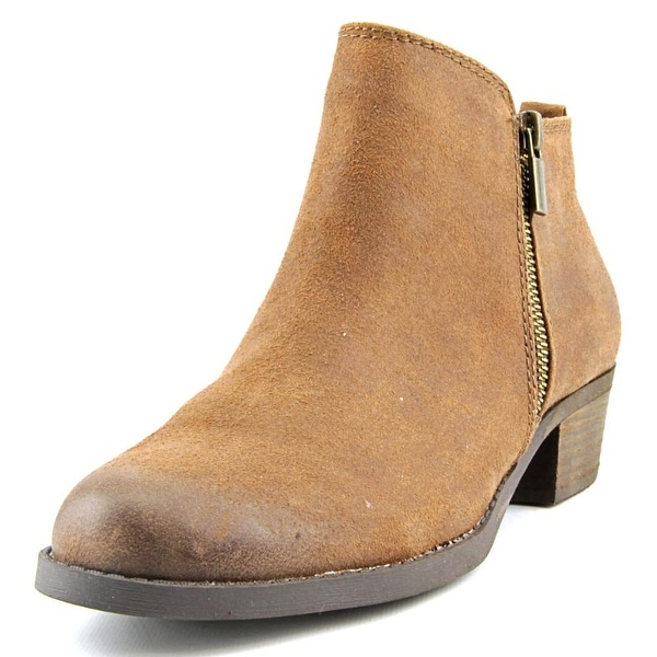 Carlos by Carlos Santana Brie Women Round Toe Synthetic Brown Ankle Boot