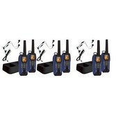 Uniden GMR5095-2CKHS (6-Pack) 50 Mile FRS/GMRS Submersible Two-Way Radio w/Direct Call - 2-pack