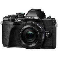 Olympus OM-D E-M10 Mark III Mirrorless Camera with 14-42mm EZ Lens (Black)